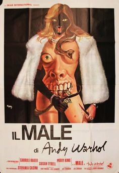 Andy Warhol, BAD manifesto cinematografico cm 140 x cm 200 - Roma Old Movies, Vintage Movies, Carroll Baker, Andy Warhol Museum, Italian Posters, Surreal Artwork, Horror Movie Posters, Horror Movies, Online Posters