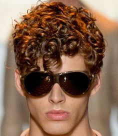 103 Best Curly Hairstyles For Men Images On Pinterest In 2018 Men