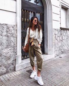 María Valdés - marvaldel en Instagram - Pantalones Largos Pull & Bear