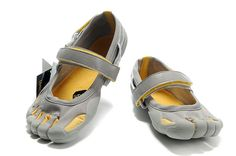 1b05cefe83a0 Mens Vibram Five Fingers Sprint Shoes Grey Silver Yellow