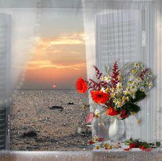 Abre as janelas da alma pra ver as coisas que Deus preparou pra você! Acredite... Seja feliz.