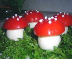Un antipasto semplicissimo, divertente da realizzare insieme ai piccoli di casa e adatto anche a chi è allergico ai funghi!