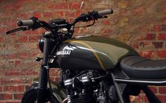 """Kawasaki Z750B Street Tracker """"N-Zed"""" by The Pacific Motorcyles Co #motorcycles #streettracker #motos   caferacerpasion.com"""
