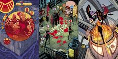 """SECRET AVENGERS Covers 1-15By Tradd Moore and Matthew WilsonSeries written by Ales Kot, drawn by Michael Walsh, and colored by Matthew Wilson.It's been an honor and a joy drawing the covers for this wonderful series. Thanks to Ales, Matt, Michael, Lauren Sankovitch, Wil Moss, and Jon Moisan for being fun collaborators, kind people, and talented creators.Check my """"Secret Avengers"""" tag (or just click here) to see each cover individually, both inked and in full color, in higher resolution…"""