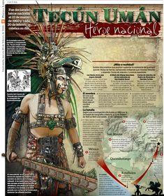 Tecun Uman, héroe nacional (Guatemala)