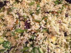 Insalata di miglio con fiori di zucchina, asparagi e radicchio di Treviso! Glutenfree, dietetico, detox! @mammesenzaglutine