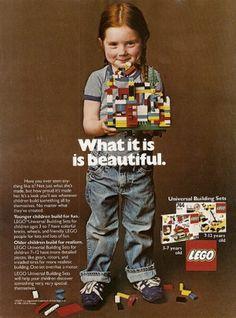 Old lego ad