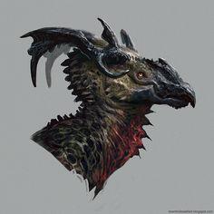 Brent's Sketchblog: dragon dude