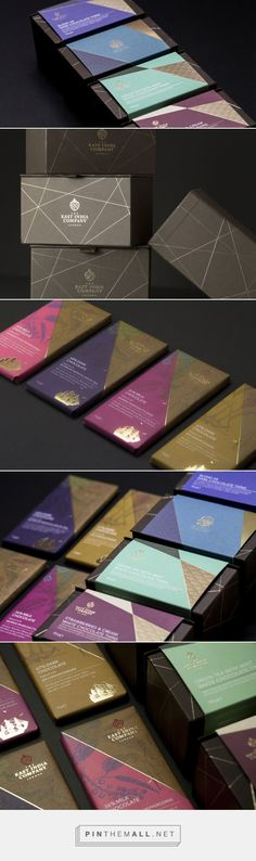 The East India Company — The Dieline - Branding & Packaging - created via http://pinthemall.net