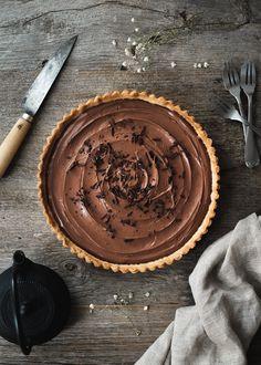 Tarte au chocolat – La Tortue Fringante, le blog végane