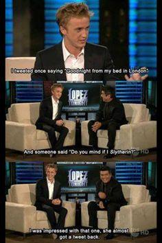 Draco Malfoy on Lopez!
