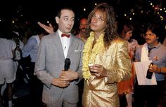 DLR and Pee Wee Herman