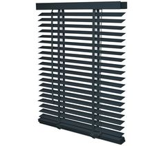 Buy Intensions Wooden Venetian Blind 110x175cm - Flint Grey at Argos.co.uk, visit Argos.co.uk to shop online for Blinds, Blinds, curtains and accessories, Home furnishings, Home and garden