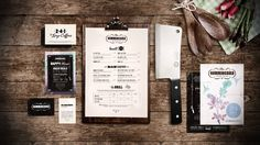 identity for hummingbird kitchen and bar    made by analogue