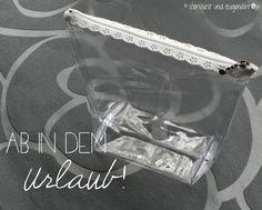 1Flugzeug-Kosmetik-Täschchen aus Plastik