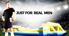 Calcio balilla umano... Just for real men!