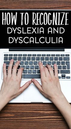 Learning disorders may manifest at any age- including in adulthood. Here's how to recognize dyslexia and dyscalculia. Dyslexia Teaching, Teaching Biology, Math Dyslexia, Dyslexia Activities, Teaching Reading, Dyslexia Strategies, Teaching Strategies, Teaching Ideas, Learning Support