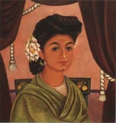 Portrait of Lupita Morillo Safa, Retrato de Lupita Morillo Safa, Frida Kahlo, C0472