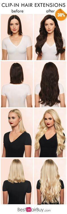 Darkest Bown, Lightest Blonde--Now it is 30% OFF DISCOUNT for clip in hair…