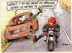 Le code des motards une langue de signes et de gestes à moto