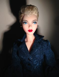 The World of B&G for Dolls and Doll Lovers!: Betty Grable wig from Ilara. iPhone photo >>>
