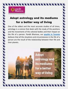 Adopt astrology and its mediums for a better way of living - PowerPoint PPT Presentation Best Psychics, Ppt Presentation, Astrology, All About Time, Adoption, Study, Positivity, Science, Live