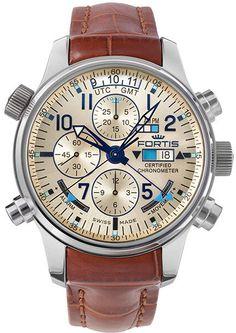 Fortis reloj Aviatis alba Recon edición limitada