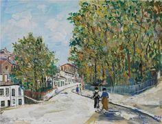 Square Minimes - Maurice Utrillo, unknown date