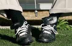 Joe Pa...the pants, the shoes, the legend
