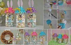 Easter bunny water bottle idea