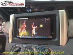 Lắp Màn Hình DVD Pioneer 8850BT Cho Toyota Innova