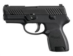 Sig Sauer P320 Sub Compact Striker 9mm 3.6 Barrel Contrast Sights Black Nitron Slide Finish 12rd