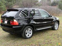Jet Black 2006 BMW X5
