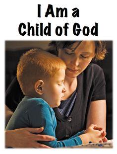 I am a Child of God Flip chart