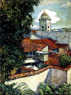 Techos de Caracas (s/f) Federico Brandt (Venezuela, 1878-1932)