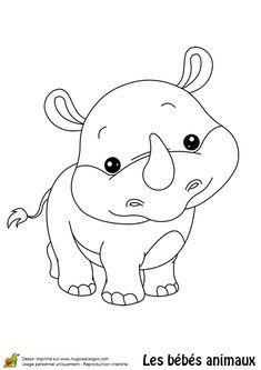 Coloriage Bebe Hippopotame.14 Meilleures Images Du Tableau Hippopotame Coloring Pages