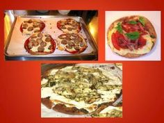 Pizza and more ideas to convert fav foods to LOW carb.
