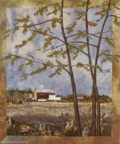 View of Home by Nancy Zieman How to create landscape quilts