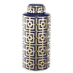 D6x13 Ceramic Lidded Jar 4EA/CTN