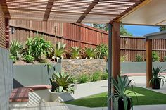 Not everyone is a keen gardener but you can still have a garden that looks like you are. Easy to care for plants and gardening ideas that look great! Swimming Pool Landscaping, Landscaping Ideas, Swimming Pools, Concrete Pool, Pool Builders, Tropical Plants, Beautiful Landscapes, Landscape Design, Landscape Designs