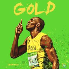 ANOTHER GOLD!   Usain Bolt wins the Mens' 200m for the 3rd straight Olympics! #Rio2016