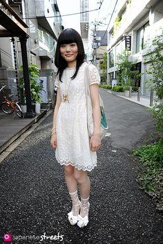 AKIKO KIKUCHI Harajuku, Tokyo SUMMER 2010, GIRLS Kjeld Duits DESIGNER, 25  Dress – Jane Marple Shoes – LOWRYS FARM