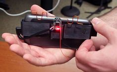 AllSee battery less gesture recognition technology