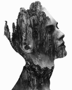 Here I have a beautiful collection of most amazing double exposure photography portraits by French artist Nevess. Portraits En Double Exposition, Exposition Multiple, Exposition Photo, Photoshop For Photographers, Photoshop Photography, Creative Photography, Art Photography, Popular Photography, Amazing Photography