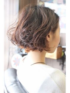 Summer Haircuts, Cute Haircuts, Funky Hairstyles, Cut Her Hair, Hair Cuts, Beauty Skin, Hair Beauty, Digital Perm, Permanent Waves