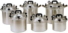 American Made Pressure Cookers (Free Shipping!)