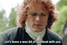Beautiful! Episode 207 Outlander Jamie