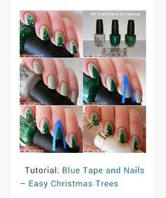 Tutorial - easy Christmas trees