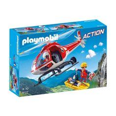 Playmobil Action - Hegyimentő helikopter (9127)