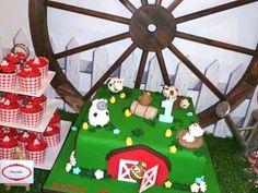 Boy's Farm Birthday Party {Barn Bash Ideas} - Spaceships and Laser Beams